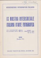 IX mostra intersociale italiana d'arte fotografica, Gazzetta del popolo, 1954