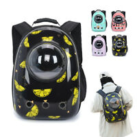 Soft Pet Carrier Backpack Dog Cat Hiking Travel Bags Space Capsule for Small Dog