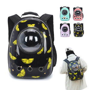 Pet Carrier Backpack Capsule Travel Dog Cat Bag Breathable Astronaut Bubble Cute