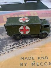 Dinky toy military ambulance