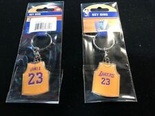 NEW  LeBron James Jersey Keychain - Los Angeles Lakers - Key Ring NBA