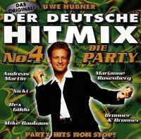 Der Deutsche Hit Mix (1998, Uwe Hübner) 4:Andreas Martin, Nicki, Rex Gild.. [CD]