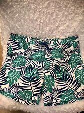 "New Brooks Brothers ""346"" Green Rainforest Hybrid Lined Swim Trunks Size XL"