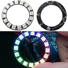RGB LED 5050 NeoPixel Ring 16x WS2812B Integrated Drivers Ultra Bright NEW