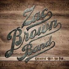 Zac Brown Band Greatest Hits so Far.. CD The Very Best of /