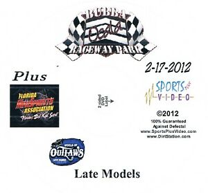 World Of Outlaws Late Models DVD From Bubba Raceway Park 2-17-2012
