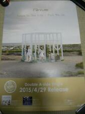 Perfume [Relax In The City] promo POSTER Japan Limited! KAWAII!!!