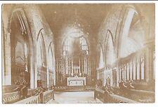 The Chancel, Grantham Parish Church RP PPC, Local PMK 1914, Good Early Card
