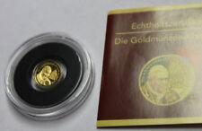 """""""Die kleinsten Goldmünzen"""" - Benin - 1500 Francs 2012 - Papst Benedikt XVI."""