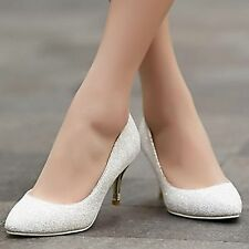 Women's Shoes Glitter Spring / Summer / Fall / Winter Pointed Toe Dress Stiletto
