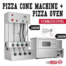 Pizza Cone Forming Making Machine With Pizza Oven Temperature Control