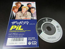 Public Image Limited The Body Japan 3 inch CD Single Sex Pistols John Lydon PIL