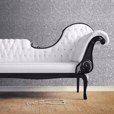 Wallpaper Debona- Luxury Starlight Crystal Sparkle Crushed Glitter - Silver 9070