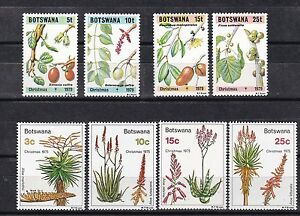 botsana 1975/9 five sets,flower,plants..            g2459