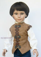 Prince Stephan 18 inch Boy Doll by Carpatina, NEW in Outfit Pictured & Gift Box