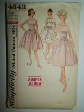Sweet//Simple OOP McCALLS 9689 Girls Special Moments Dress PATTERN 3-4-5//4-5-6 UC