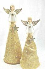 Decorazioni in oro in tessuto per albero di Natale