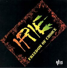 Iriê: Freedom of Choice by Iriê (CD, 1991, TBA Records) BRAND NEW FACTORY SEALED