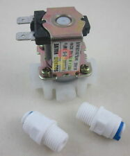 "24V 1/4"" Drain Waste Water Flush Solenoid Valve for RO Reverse Osmosis system"