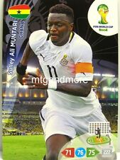 Adrenalyn XL - Sulley Ali Muntari - Ghana - Fifa World Cup Brazil 2014 WM