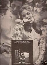 60's Caron Bellodgia Perfume Ad   1969