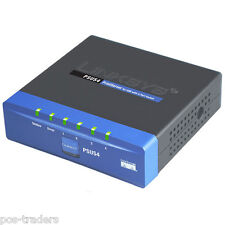 LINKSYS PSUS4 PrintServer for USB with 4 port Switch RJ45 USB 1.1 - Excl PSU