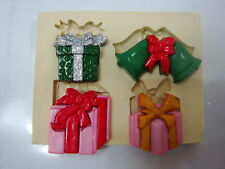Sugarcraft Mold Mould  for sugarcake,Cupcake, Clay- Christmas #4