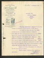 """MARSEILLE (13) USINE / SAVONNERIE """"Alfred ROSTAND & Fils"""" en 1919"""