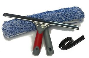 """WINDOW CLEANING 10 """" SQUEEGEE & 10"""" WINDOW WASHER SET"""