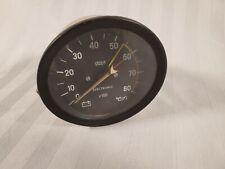 Original Veglia Borletti OE 4450499 Fiat 124 Spider Tachometer 8K RPM x100 VGC