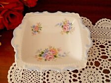 BEAUTIFUL OBLONG PARTY TRAY IN ENGLISH BOUQUET BY ROYAL ALBERT  MADE IN ENGLAND