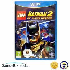 LEGO Batman 2: DC Superhelden (Nintendo Wii U) ** große Zustand **