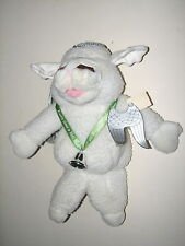 Vtg Shari Lewis Baby Lamb Chop Angel Wing Bell Plush Hand Puppet Doll 1993 16""