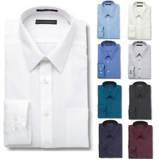 Damon Men's Regular Fit Ultra Poplin Long Sleeve Dress Shirt