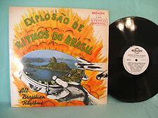 All Brazilian Rhythms, Explosao de Ritmos Do Brasil, Enir E 9010, 1970, Latin
