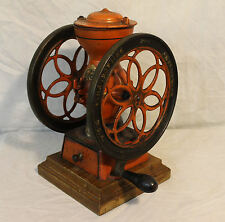 Antique Enterprise Cast Iron Double Wheel Coffee Grinder