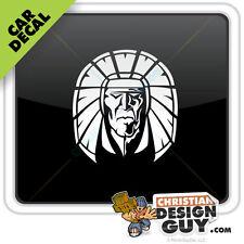 Sticker Native American Indian Car Decal Window Logo