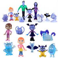 9/10Pcs Set Vampirina TV Series Cartoon Batwoman Girls Figure Kids Birthday Toy