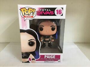 FUNKO POP! VINYL - WWE TOTAL DIVAS #16 PAIGE - MINT RARE VAULTED