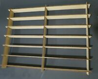 Hot Wheels Hotwheels Matchbox 1/64 1:64 Model Display Shelf Diecast 28 Car WOOD