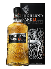 Highland Park Viking Scars 12 Year Old Single Malt Scotch Whisky - WB79, 700ml