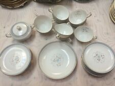 Japanese China Set 19-piece - Delight by Royal M (blue floral)