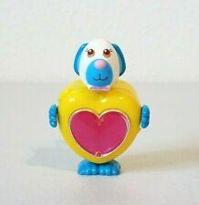 Vintage 1984 Sweet Secrets Pretty Puppy Blue Dog w/Heart Jewel Galoob