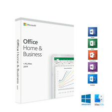 Microsoft Office Home and Business 2019 1 PC/Mac English T5D-03251 Medialess