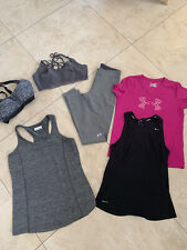 Lot Sport Woman Under Armour Pinj Nike Comlumbia Size S