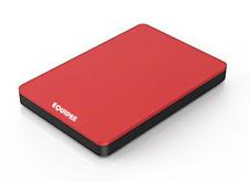 Equipee 500SSD 2.5inch USB 2.0 FAT32 External Hard Drive -  Red (MAC & Windows)