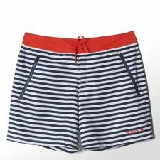 adidas Polyester Striped Swimwear for Men
