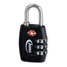 TSA Combination Padlock 3 Dial Travel Suitcase Luggage Bag USA Code Lock