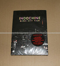 INDOCHINE - BLACK CITY TOUR - DIGIPACK 2 DVDs - NEUF COLLECTOR