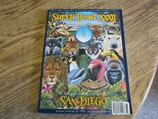 Used Super Bowl XXXII, The Official Program, Sunday, January 25, 1998 (LR)